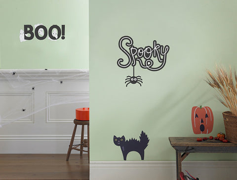 Halloween Boo! Ghosts Wall Decal