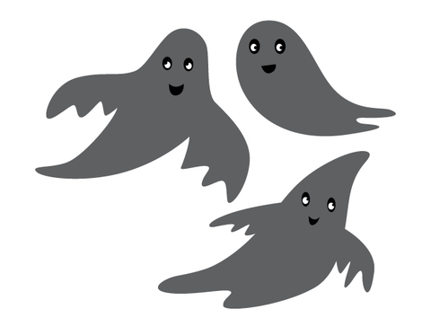 Halloween Ghosts Wall Decal