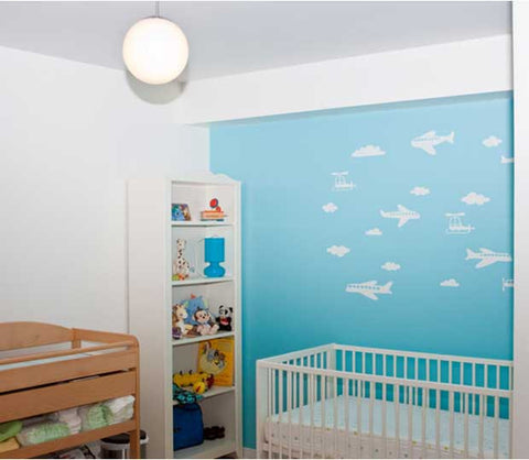 Airplane Wall Decal Mural