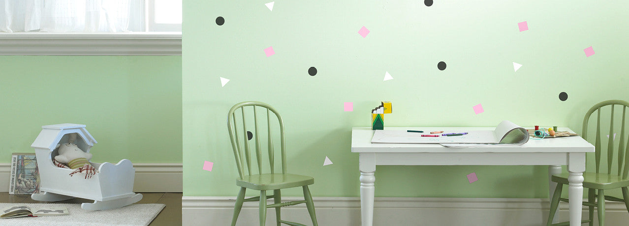 geometric wall decals