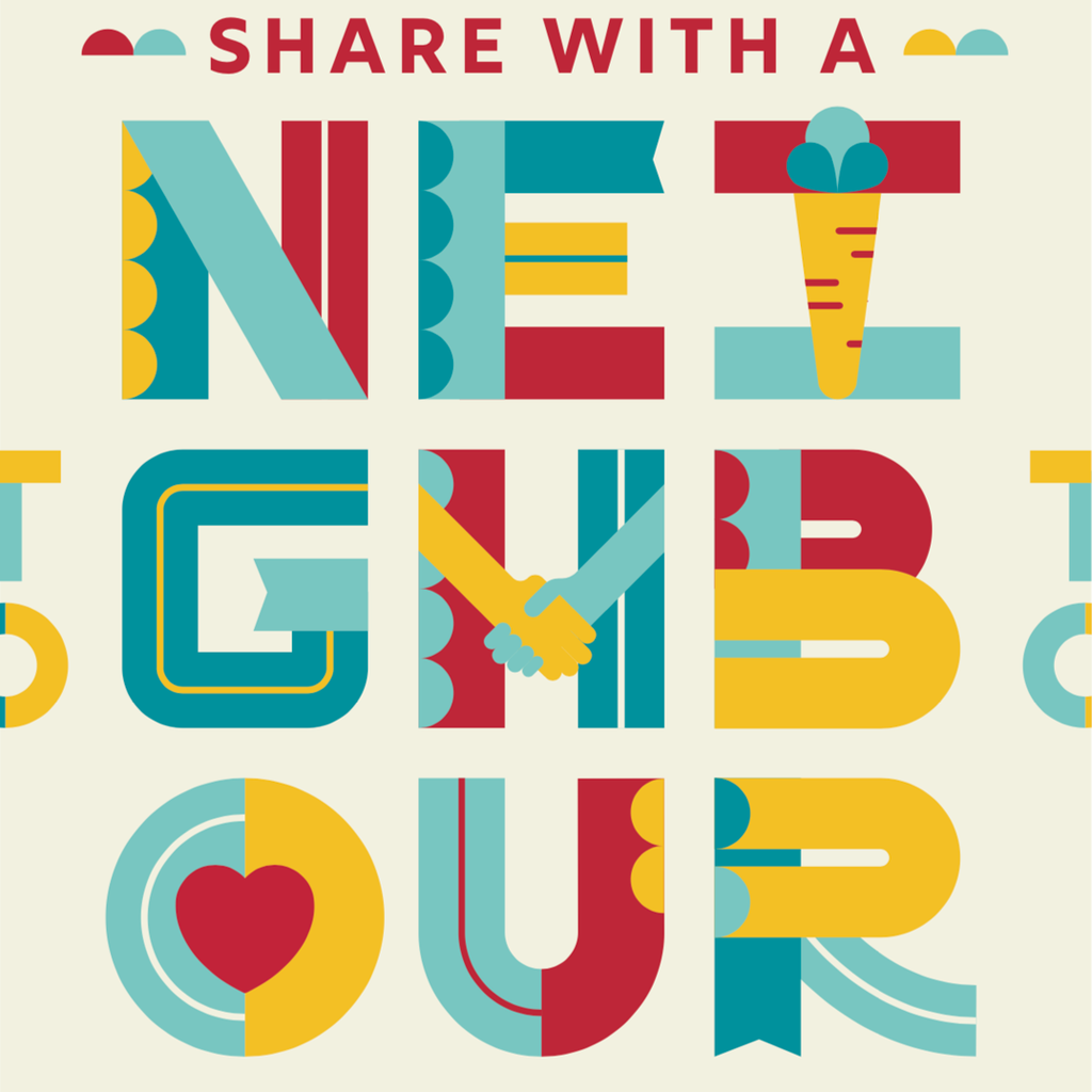 Become a Monthly Donor - Share with a Neighbour
