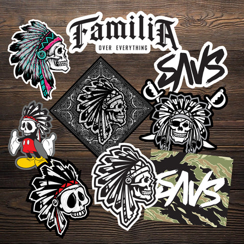SAVS STICKER PACK