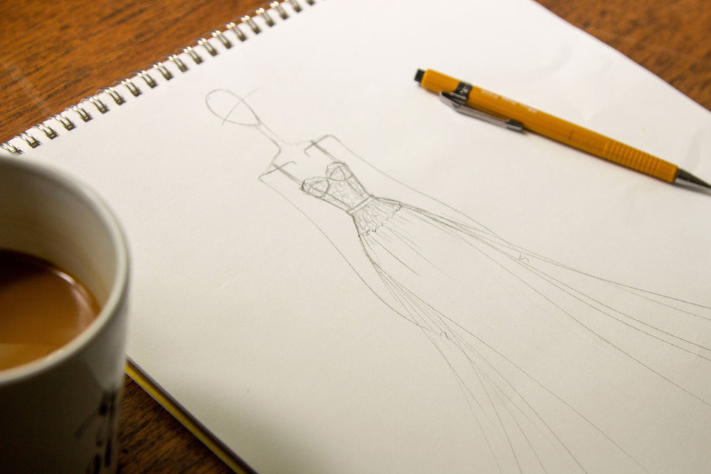 Handmade Wedding Dress: Part 1 - Inspiration