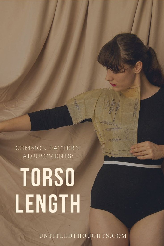 Common Pattern Adjustments: Torso Length