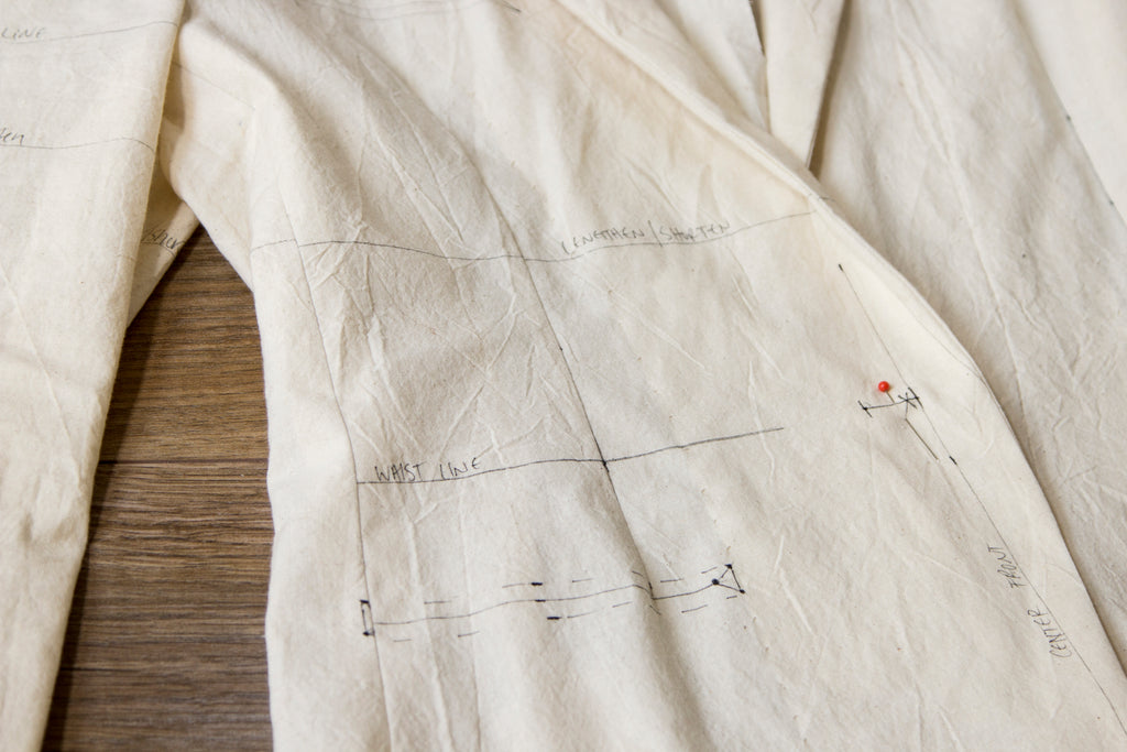 Arlen's Handmade Suit: Part 2 - Jacket Toile + Fitting