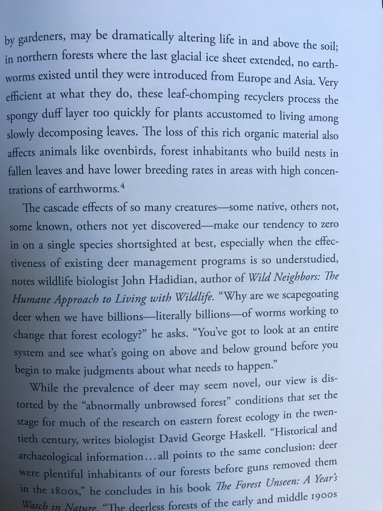 """Excerpt from the book """"Nature's Best Hope"""""""