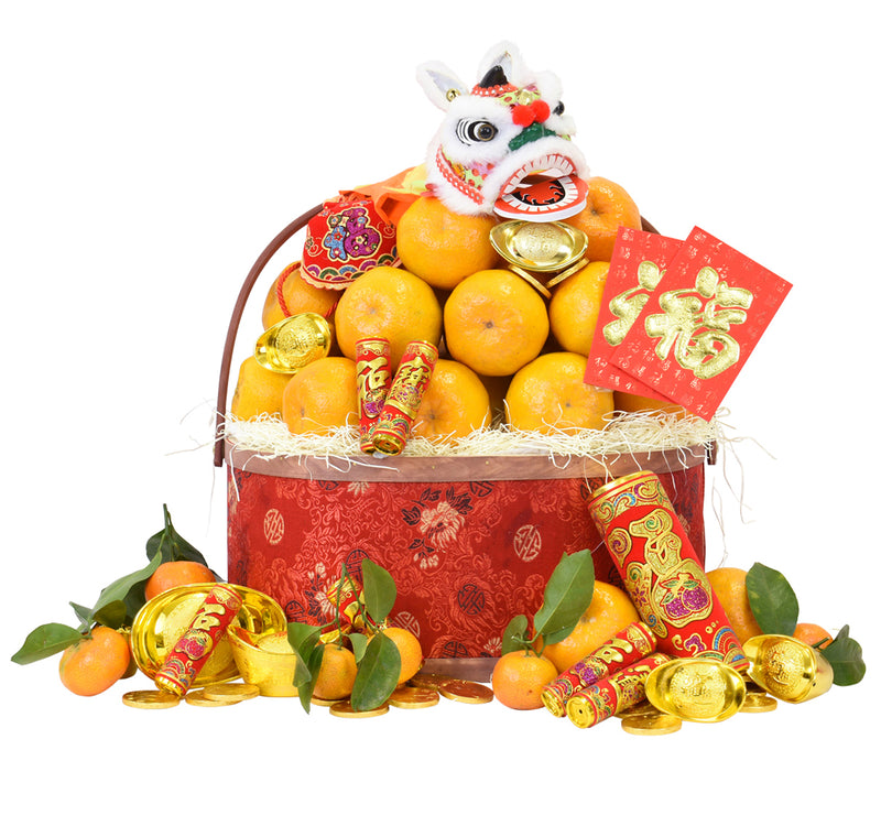 CNY Premium Mandarin Basket - Chinese New Year