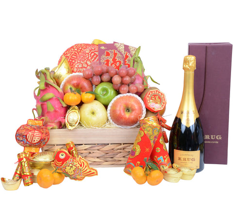 Chinese New Year Classic Fruit Hamper
