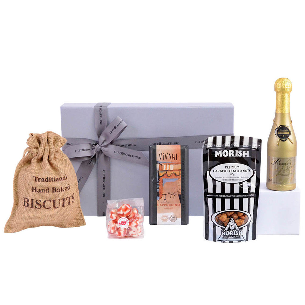 Bubbly Sweet Hug - Gourmet hamper
