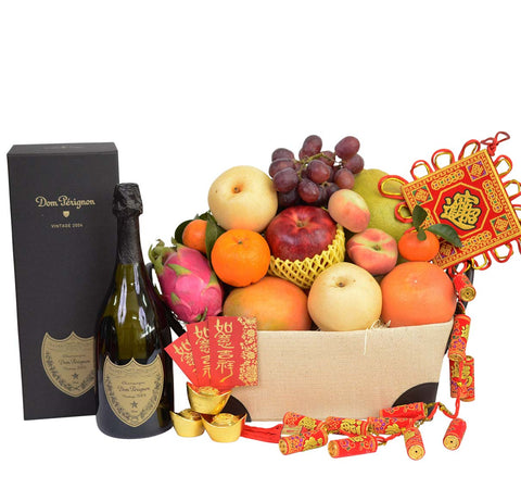Chinese New Year Traditional Fruit Hamper