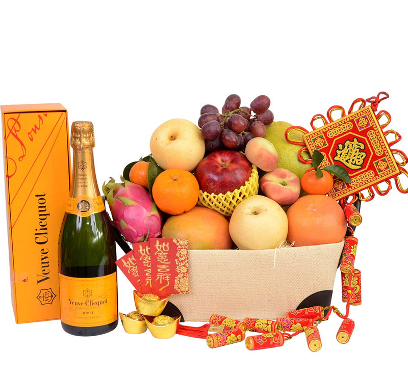 Chinese New Year Traditional Fruit Hamper - Chinese New Year
