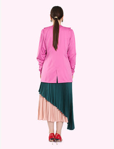 Morrocan embroidered blazer with long sleeves