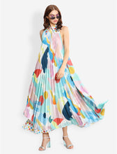 Load image into Gallery viewer, pleated tent dress