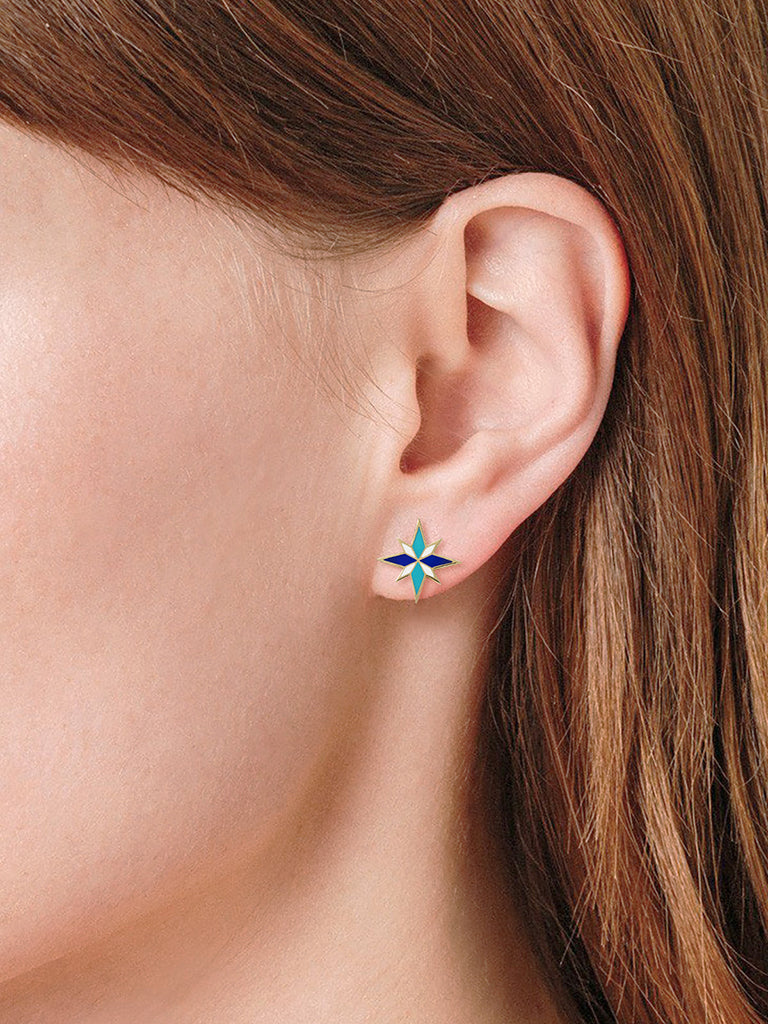 Sirius Earrings - Blue