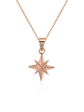 Load image into Gallery viewer, Stella Necklace with White Diamonds