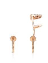 Load image into Gallery viewer, Eros Earrings with Ear Cuffs