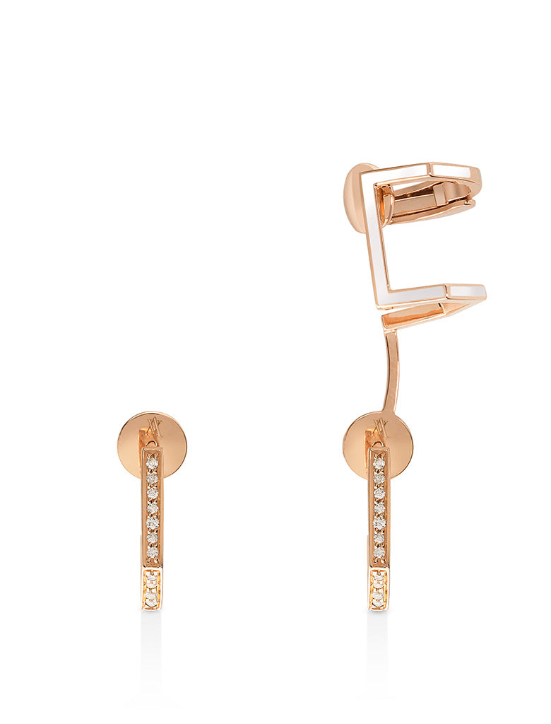 Eros Earrings with Ear Cuffs