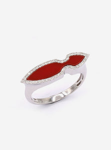 Red Versailles Ring