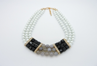 Pearl Statement Necklace | Helen's Jewels