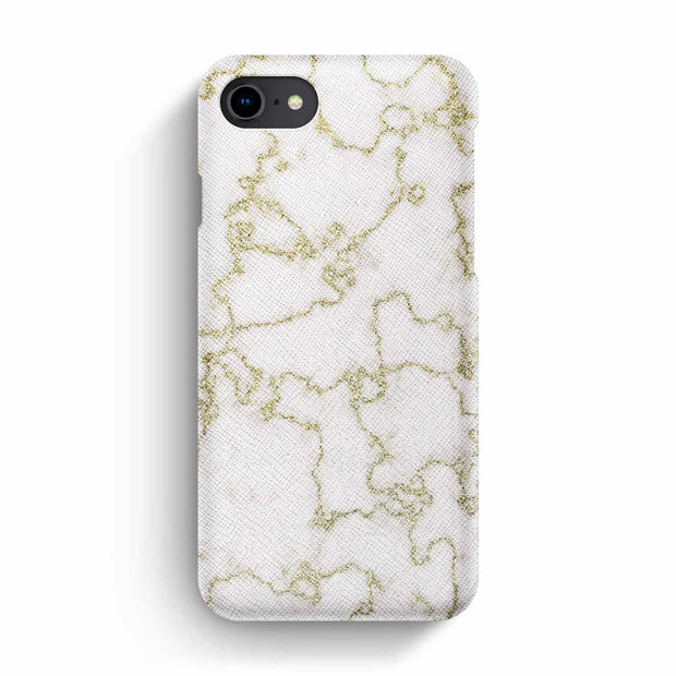 Mobile Mob True Envy iPhone 7/8 Case - Soft Golden Marble