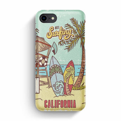 Mobile Mob True Envy iPhone 7/8 Case - Vintage California Sun