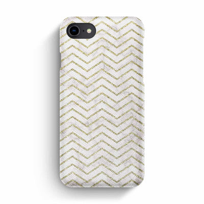 Mobile Mob True Envy iPhone 7/8 Case - ZigZag Golden Marble