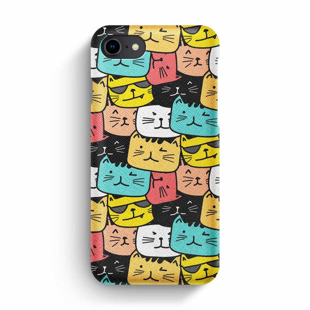 Mobile Mob True Envy iPhone 7/8 Case - Cats Soup in Colors