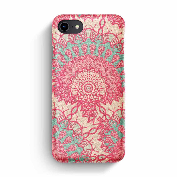 Mobile Mob True Envy iPhone 7/8 Case - Delicate Pastel Mandala
