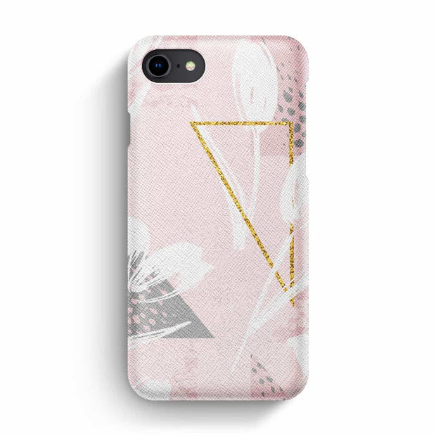 True Envy iPhone 7/8 Case - Floral and Geometric Harmony
