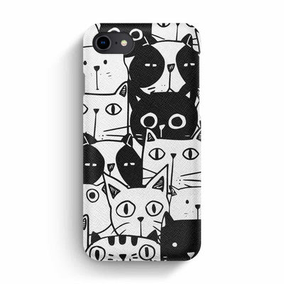 Mobile Mob True Envy iPhone 7/8 Case - Inky Cats