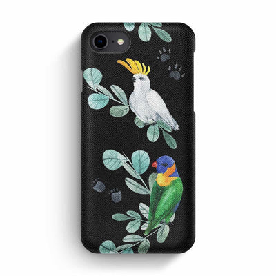 Mobile Mob True Envy iPhone 7/8 Case - Jazzy parrots