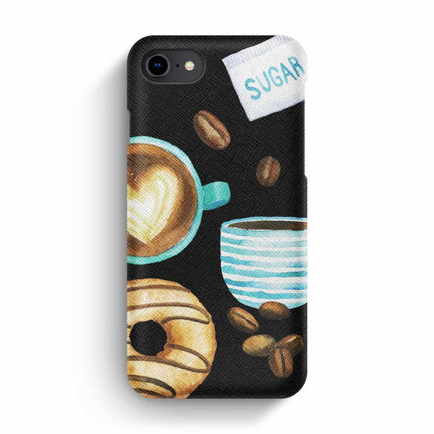 True Envy iPhone 7/8 Case - Mocha & donuts