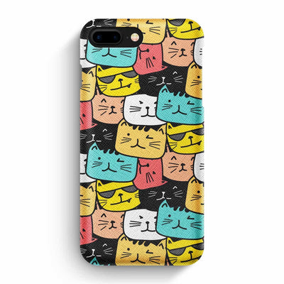 Mobile Mob True Envy iPhone 7 Plus/8 Plus Case - Cats Soup in Colors