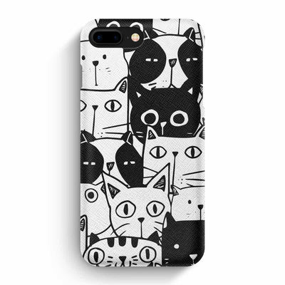 Mobile Mob True Envy iPhone 7 Plus/8 Plus Case - Inky Cats
