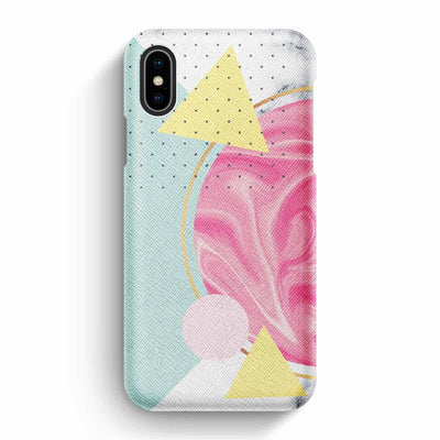 Mobile Mob True Envy iPhone X/XS Case - Sky in strawberry and Vanilla