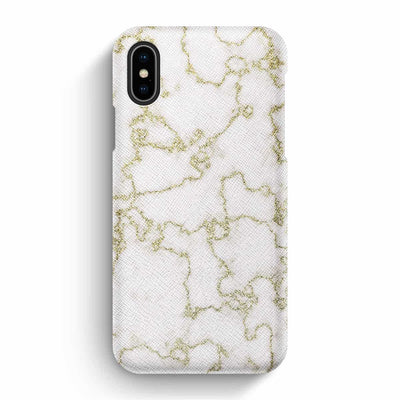 Mobile Mob True Envy iPhone X/XS Case - Soft Golden Marble