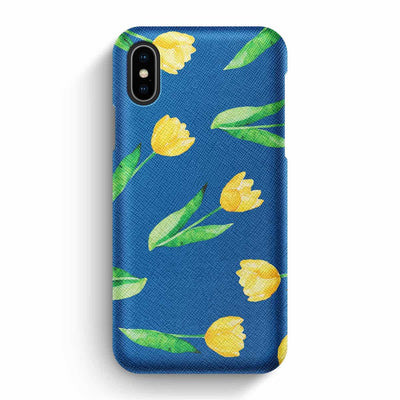 Mobile Mob True Envy iPhone X/XS Case - Sunny tullips & the sky