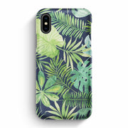 True Envy iPhone X/XS Case - Tropical Life in Green