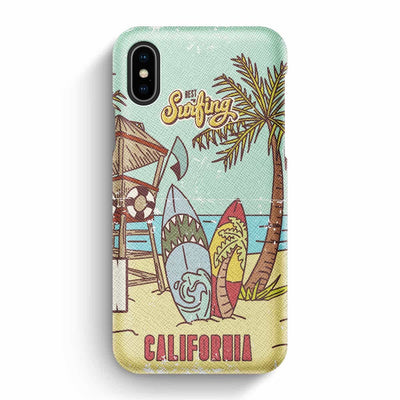 Mobile Mob True Envy iPhone X/XS Case - Vintage California Sun