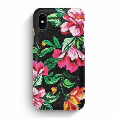 True Envy iPhone X/XS Case - Vivid Garden Flower