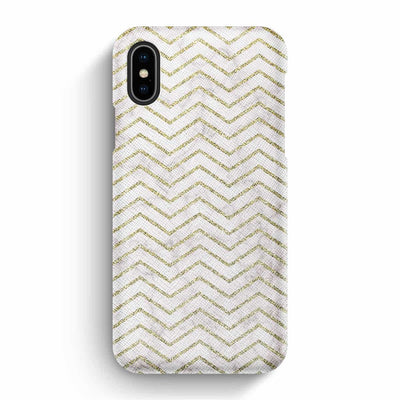 Mobile Mob True Envy iPhone X/XS Case - ZigZag Golden Marble