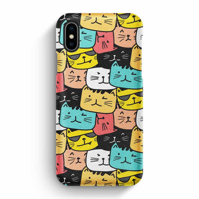 Mobile Mob True Envy iPhone X/XS Case - Cats Soup in Colors