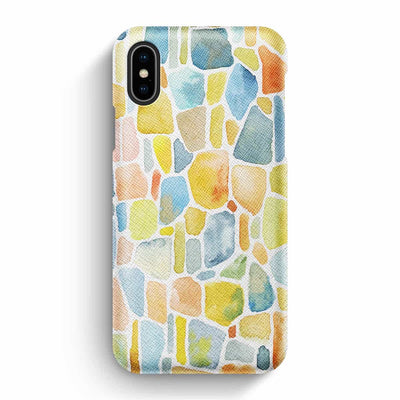 Mobile Mob True Envy iPhone X/XS Case - Cobbled Colors