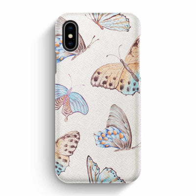True Envy iPhone X/XS Case - Delicate Butterflies