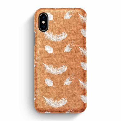 Mobile Mob True Envy iPhone X/XS Case - Feathers Falling During Sunset