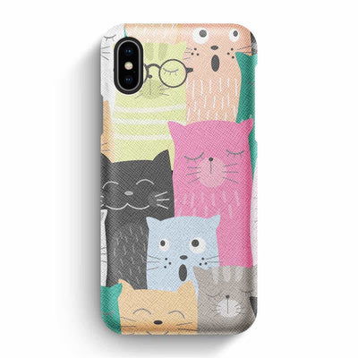 True Envy iPhone X/XS Case - Feline Feelings