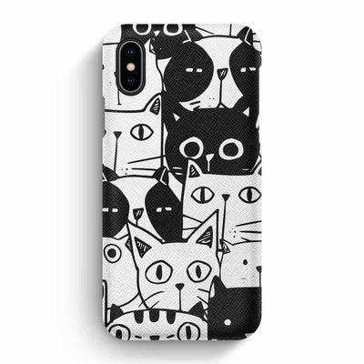 Mobile Mob True Envy iPhone X/XS Case - Inky Cats
