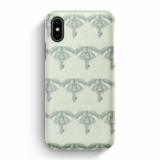 True Envy iPhone X/XS Case - Namaste in Light Green