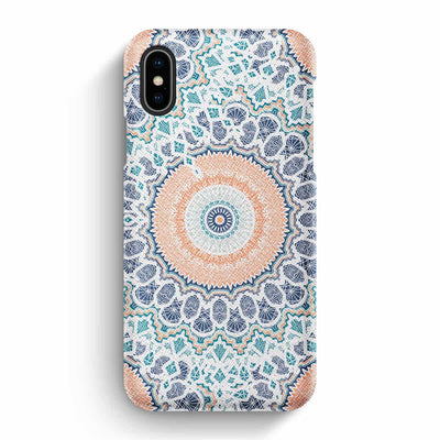 Mobile Mob True Envy iPhone X/XS Case - Peach Pastel Mandala