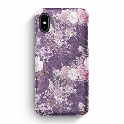 Mobile Mob True Envy iPhone X/XS Case - Purple Bouquet